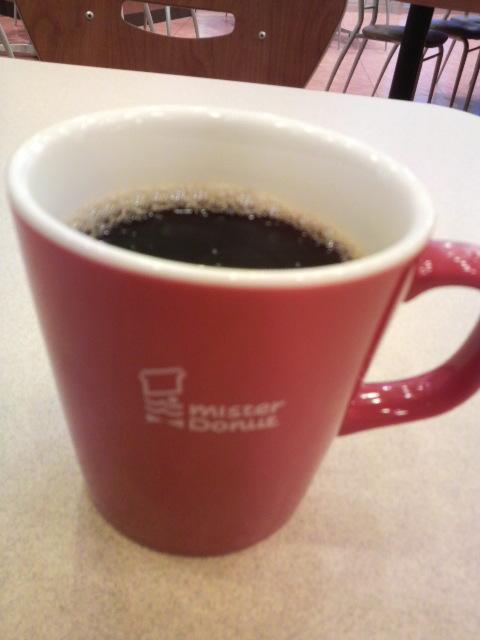今日のコーヒーなう